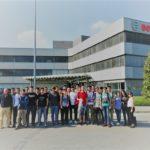 Studenti del professionale in visita aziendale - 2017
