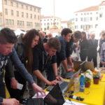 Studenti al festival dal dire al fare sostenibile di Este - 2017