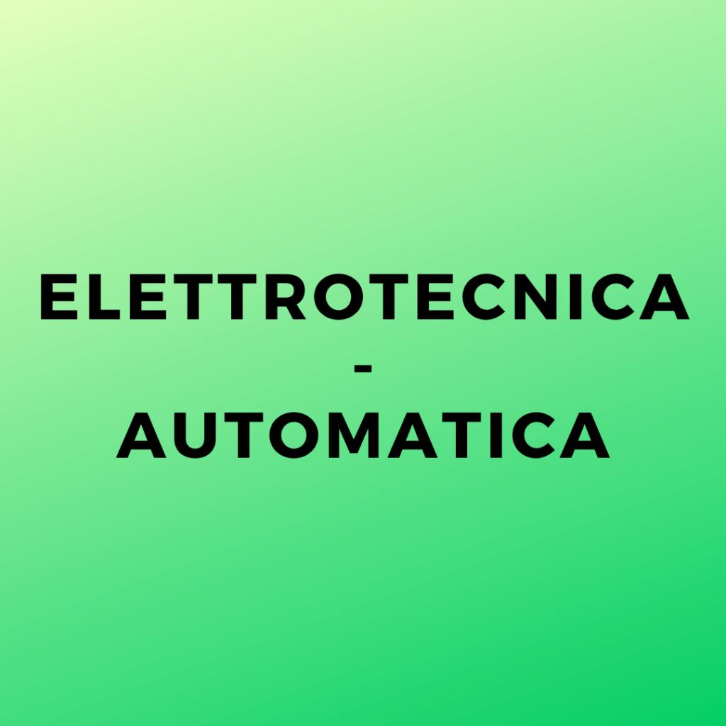 Elettrotecnica-Automatica